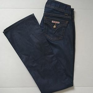 Hudson Bootcut darkwash jeans EUC size 26 tall